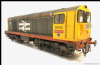 HELJAN 2015 - 20165 ' Henry Pease 'Class 20 Railfreight 'red-stripe' grey - Weathered O Gauge